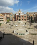 Lluís Domènech i Montaner, 1902-1930. Sant Pau historic site after its restoration © IMPUiQV