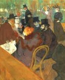 Henri de Toulouse-Lautrec <em>En el Moulin Rouge</em> © The Art Institute of Chicago
