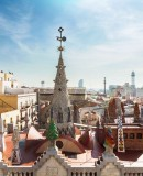 View from the Rooftop of Palau Güell (Photo taken from the website page of the MMOMA)