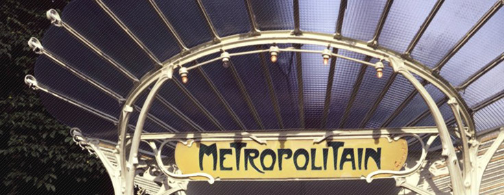 Hector Guimard, 1900. Entrance to the Metro station at Porte Dauphine Paris (© Felipe Ferrer)