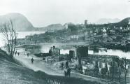 View of Alseund after the fire in of 23rd January 1904, ehich left more than ten thousand people homeless