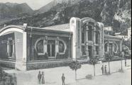 San Pellegrino mineral water bottling plant, built in 1906 by Romolo Squadrelli and torn down in the  1920s
